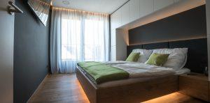 Loxone Smart Home slaapkamer